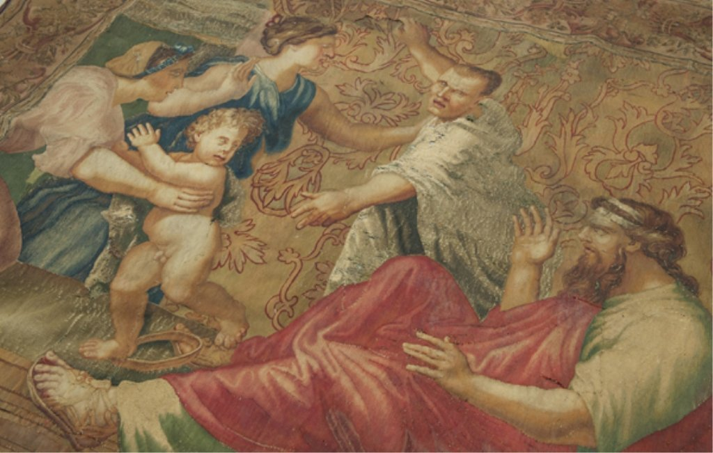 100: Large Tapestry in the Renaissance style - 2