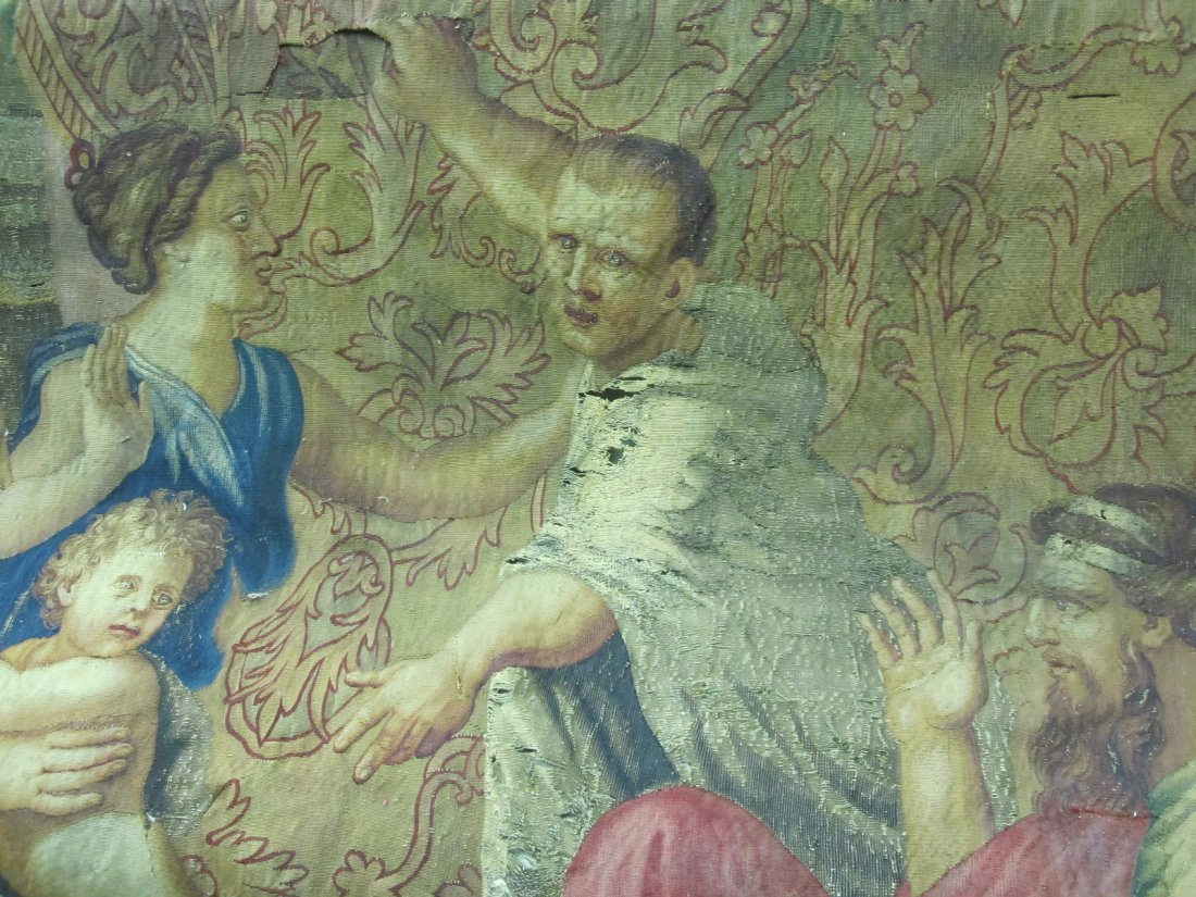100: Large Tapestry in the Renaissance style - 7