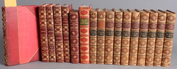 3: 20 Vols, incl THE WORKS OF LORD BYRON, 10 vols.