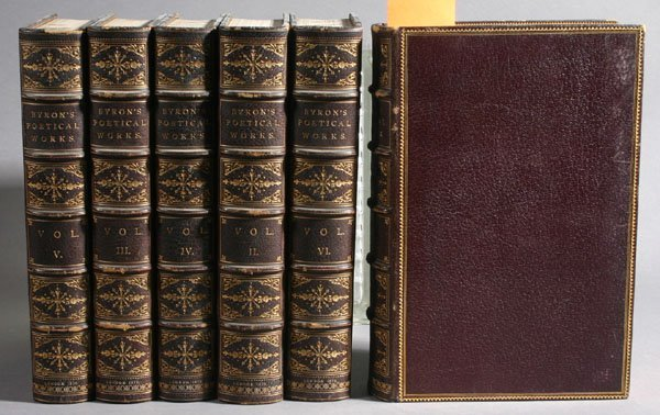 4: The Poetical Works Of Lord Byron. 6 Vols. 1879.