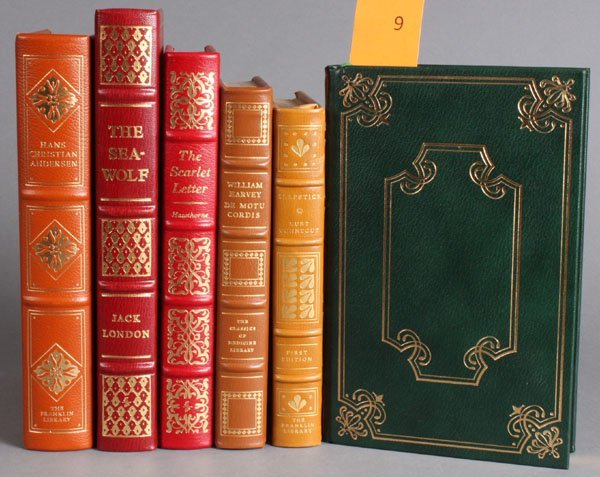 9: 6 Titles: Franklin Library/Easton Press.