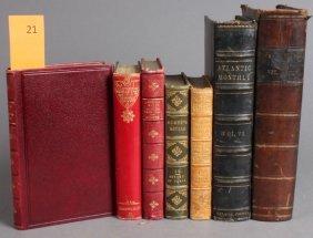 7 Vols: Atlantic Monthly, Dickens, Others.