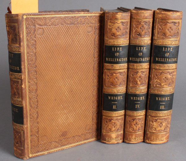28: G. N. Wright. ARTHUR, DUKE OF WELLINGTON. 4 Vols.