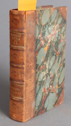Walter Scott. WAVERLEY NOVELS. 48 Vols. 1829-1833
