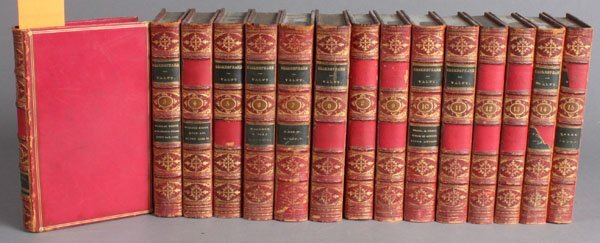31: The Plays And Poems Of Shakespeare. 15 Vols.