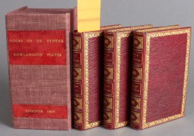Three Tours Of Dr. Syntax. 1823.