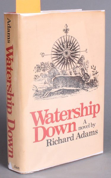 34: WATERSHIP DOWN, (1972), signed by Richard Adams