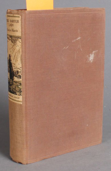 47: Evelyn Harris. THE BARTER LADY. 1934. 1st edition.