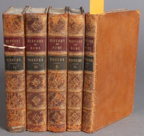 Niebuhr. THE HISTORY OF ROME. 5 Vols. 1837-1844.