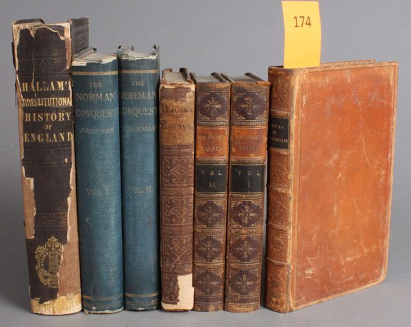 174: 7 Titles (12 Vols) related to British history.
