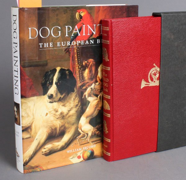179: 2 Books: Dog Painting + The Bird Dog Book, 1/1000