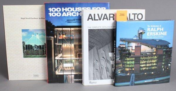 286: 8 Titles (9 Vols) on architecture.