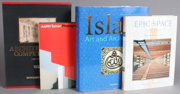 286: 8 Titles (9 Vols) on architecture. - 2