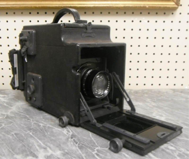 3: Graflex camera with Carl Zeiss lens.