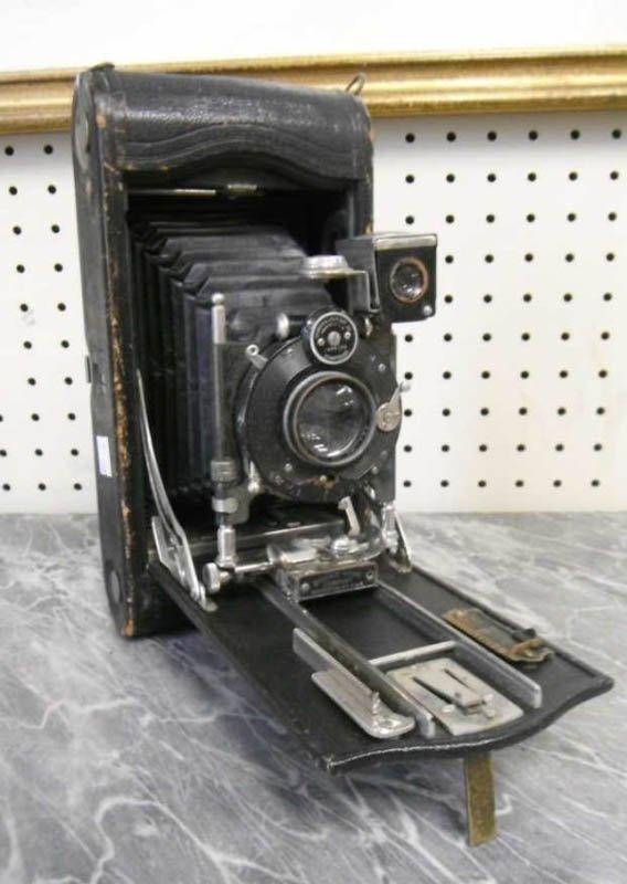 5: Eastman Kodak 3A Folding pocket camera.