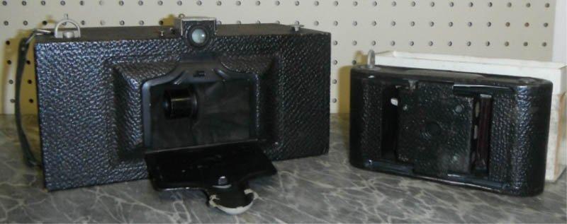 8: Lot of 2 Kodak cameras incl No4 Panoram & No 1.