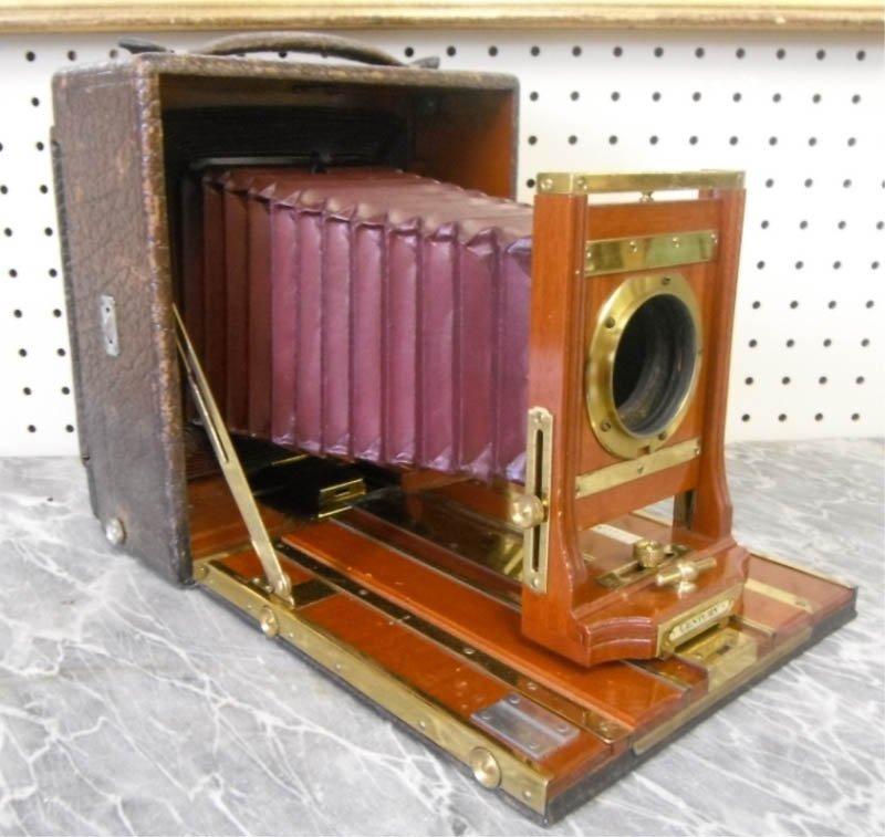 13: Large format Century bellows camera.