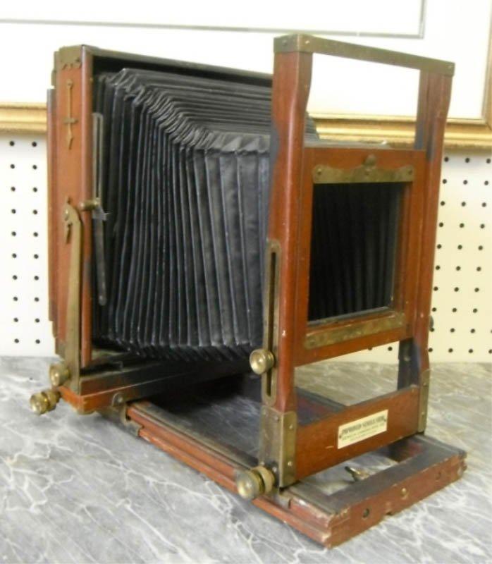 14: Large Seneca box camera.