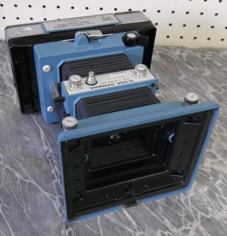 16: C30A Tektronix camera.