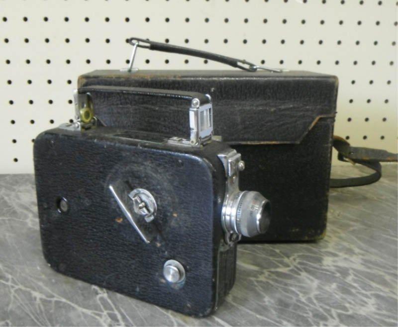 19: Cine-Kodak 8 Model 60 film camera.