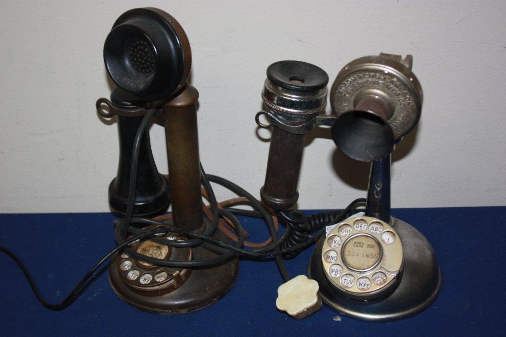 10: Two Stromberg-Carlson Telephones