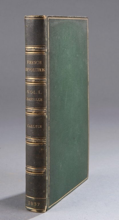 1: 21 Vols, 9 inscribed by Thomas Carlyle.
