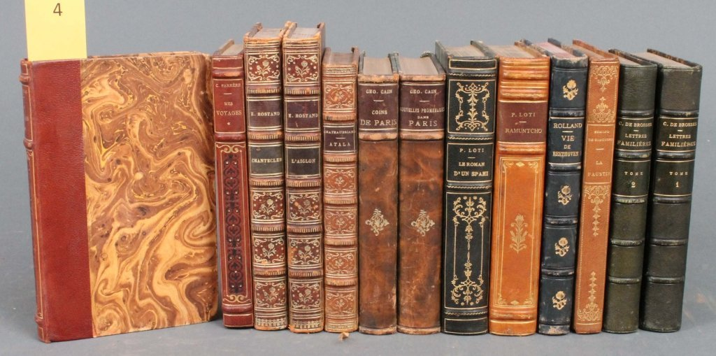 4: 11 Books (13 Vols): Rostand, Cain, other authors.