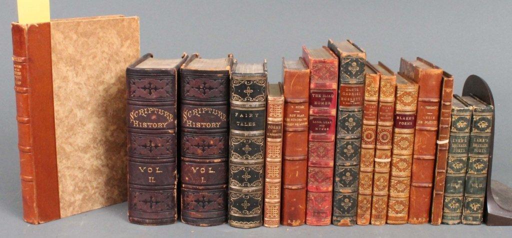 9: 15 Vols: Blake, Lamb, Homer, Lang, Goldsmith...