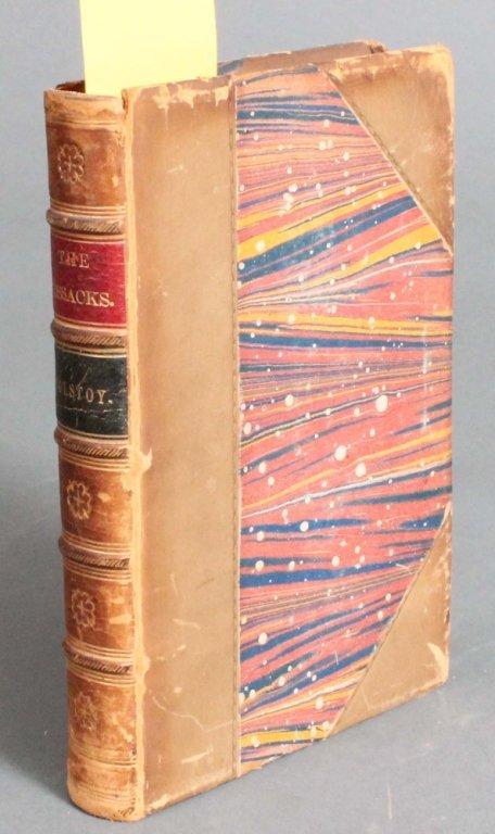14: Count Leo Tolstoy. THE COSSACKS. NY: 1878.