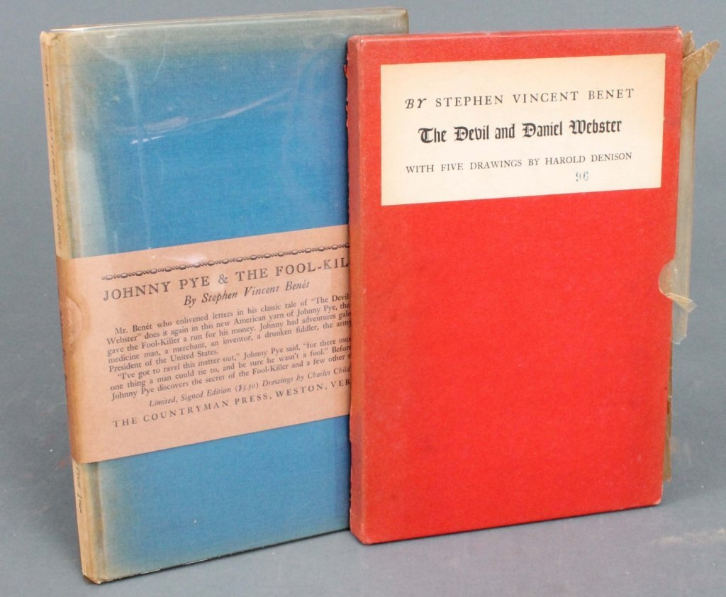 15: 2 First Editions: Stephen Vincent Benet.