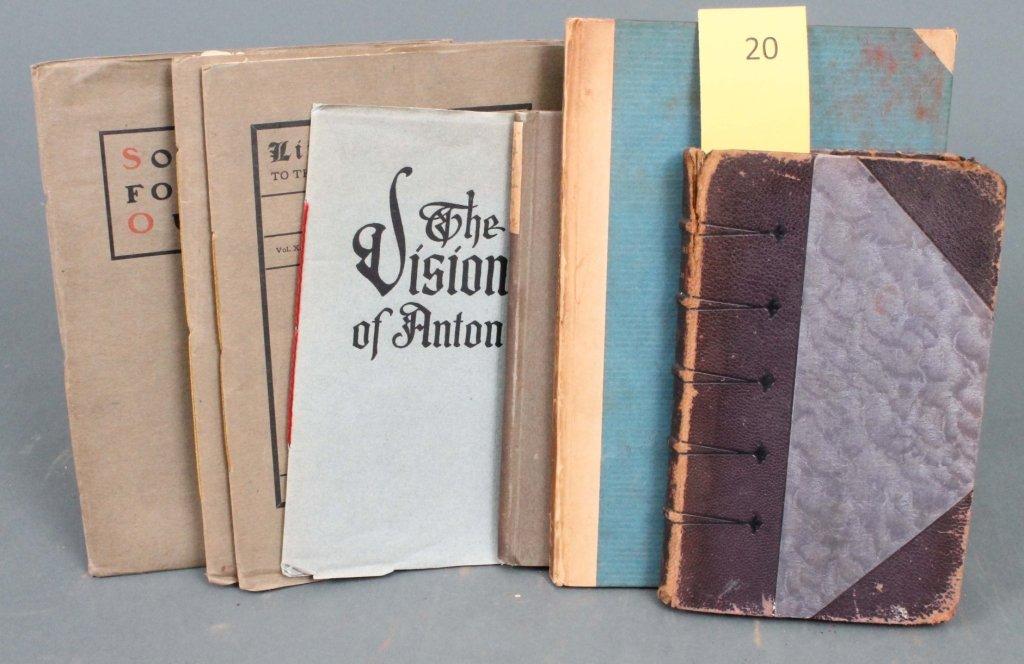 20: 7 Titles, incl: Saltus, OSCAR WILDE, 1917.