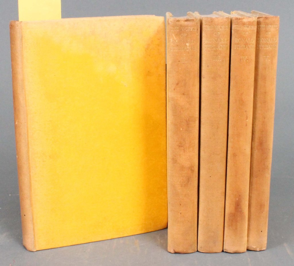 24: The Works of Ronald Firbank. 5 Vols. 1929. 24/235.
