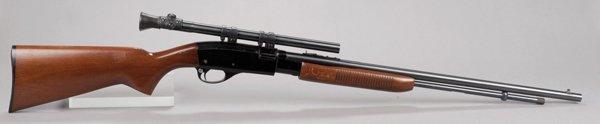 2: Remington Fieldmaster model 572 with scope. Popular