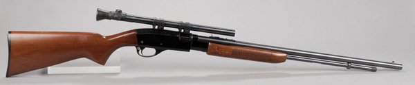2: Remington Fieldmaster model 572 with scope. Popular