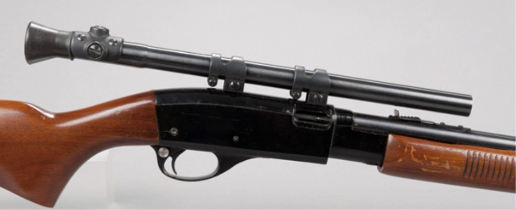 2: Remington Fieldmaster model 572 with scope. Popular - 2