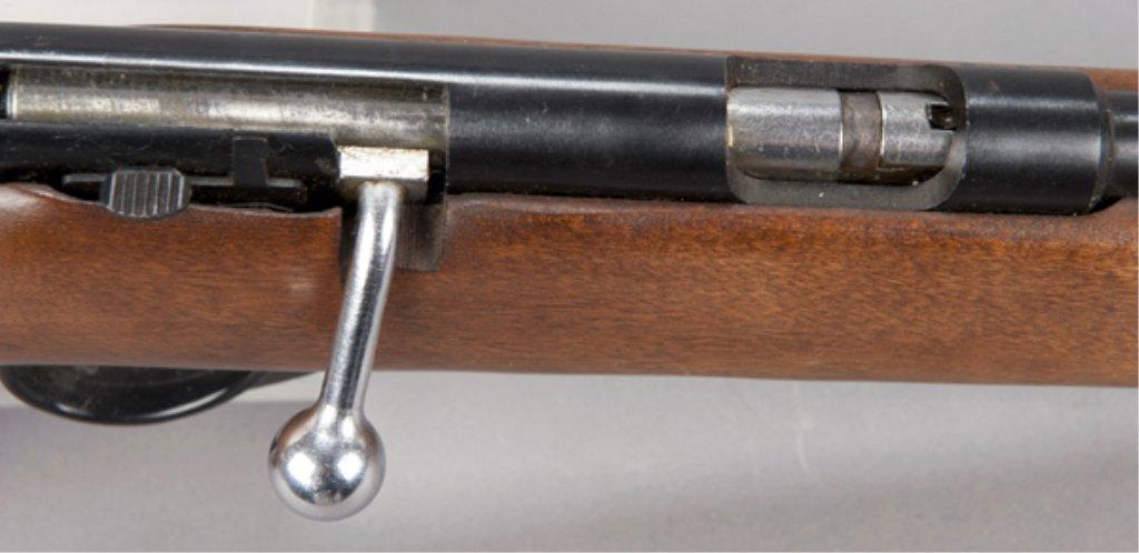 3: Bolt action rifle Higgins model 103.16 .22 cal. 1950 - 3