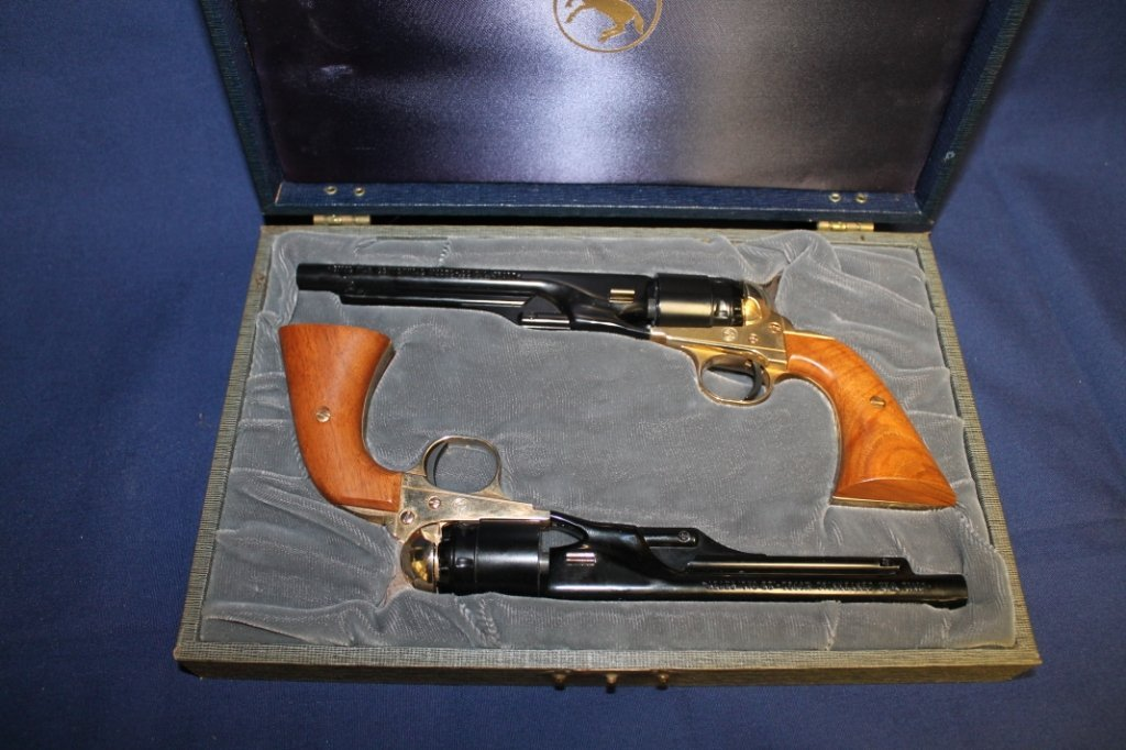 7: 1961 Colt Civil War Centennial single shot pistols P