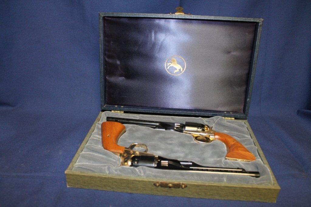 7: 1961 Colt Civil War Centennial single shot pistols P - 2
