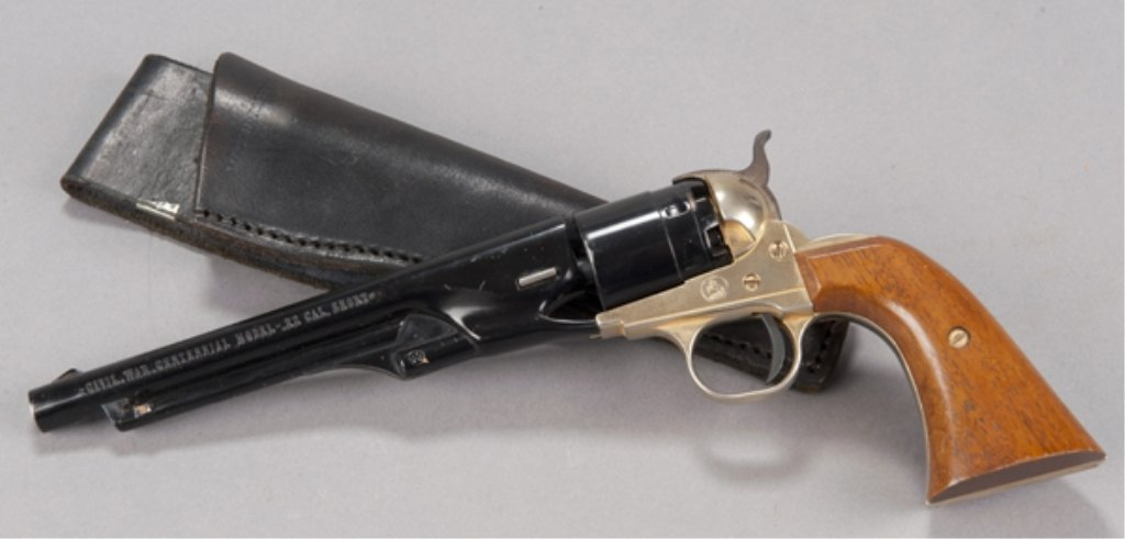 8: 1961 Colt Civil War Centennial single shot pistol. 1