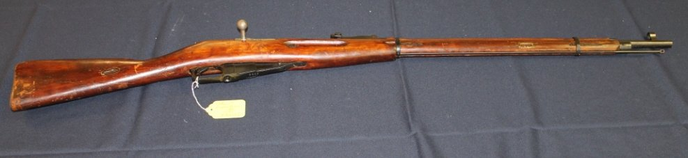 11: Russian Mosin-Nagant rifle 1942.