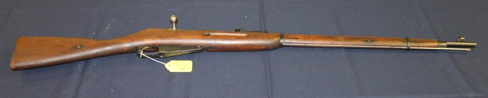 12: Finnish Mosin-Nagant rifle 1944. #72709. F18