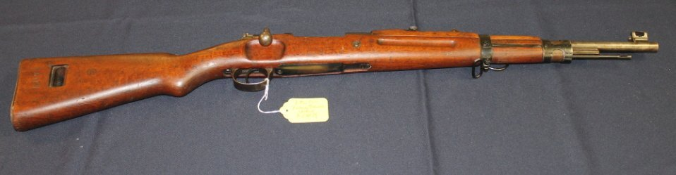 15: Persian Mauser Model 98/29 bolt action rifle. Short
