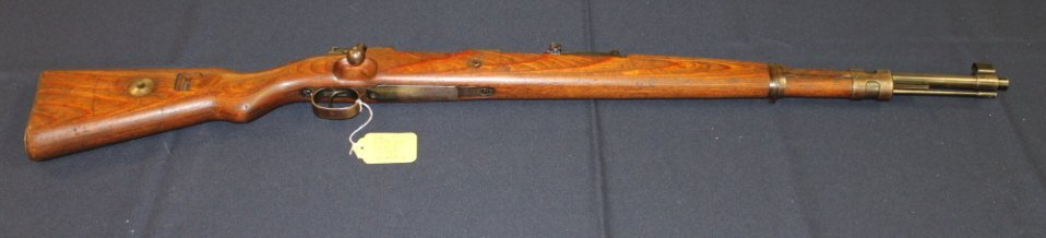 17: Mauser Lubecker K98k duv 1940. #2306 all matching.