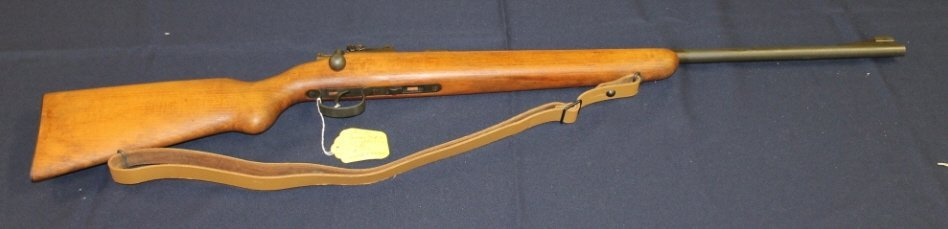 20: Mauser model 45 .22 caliber rifle. #722. F1