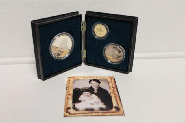 17: 1995 Civil War Battlefield commemorative coins.