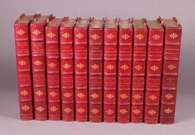 11 Vols, Extra-Illustrated. American Revolution.