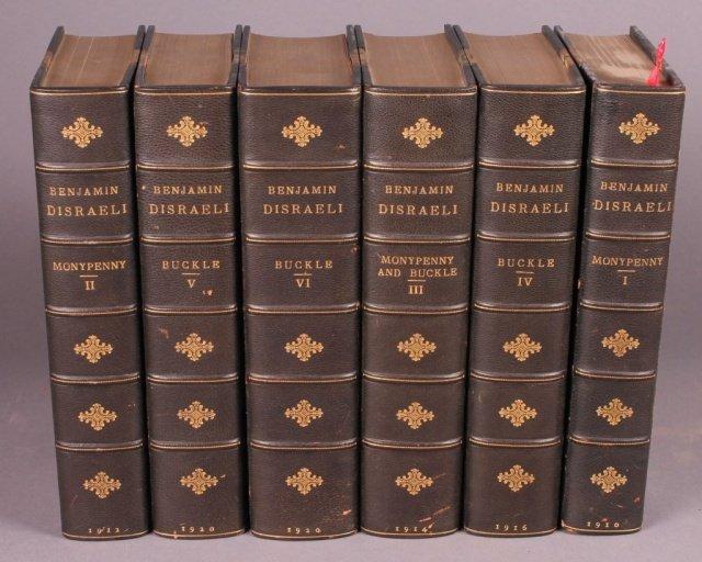 THE LIFE OF BENJAMIN DISRAELI. 6 Vols. 1910-1920.