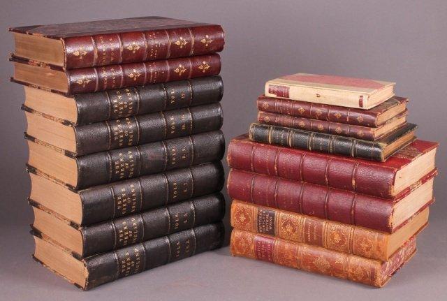 9 Titles (15 Vols): Strickland, Gower, Brooks...