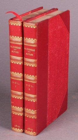 HUDIBRAS. 2 Vols. 1819. 12 hand-colored plates.