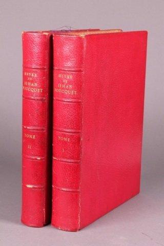 Oeuvre de Jehan Focuquet. 2 Vols. (1866-67) 1/550